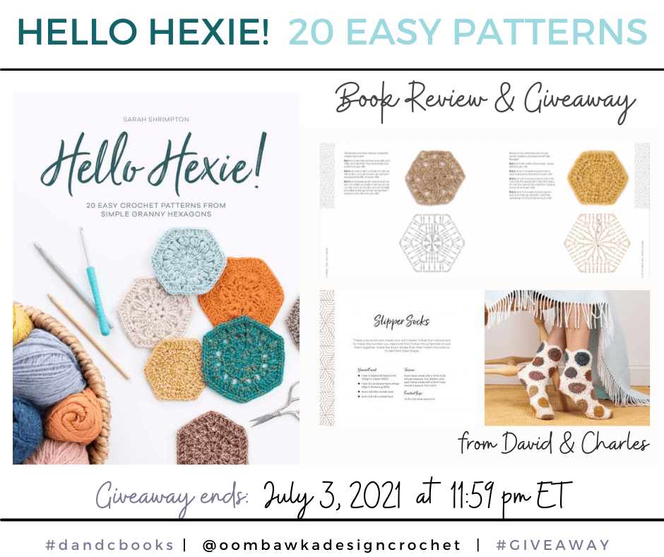 Hello Hexie David and Charles Review and Giveaway FB