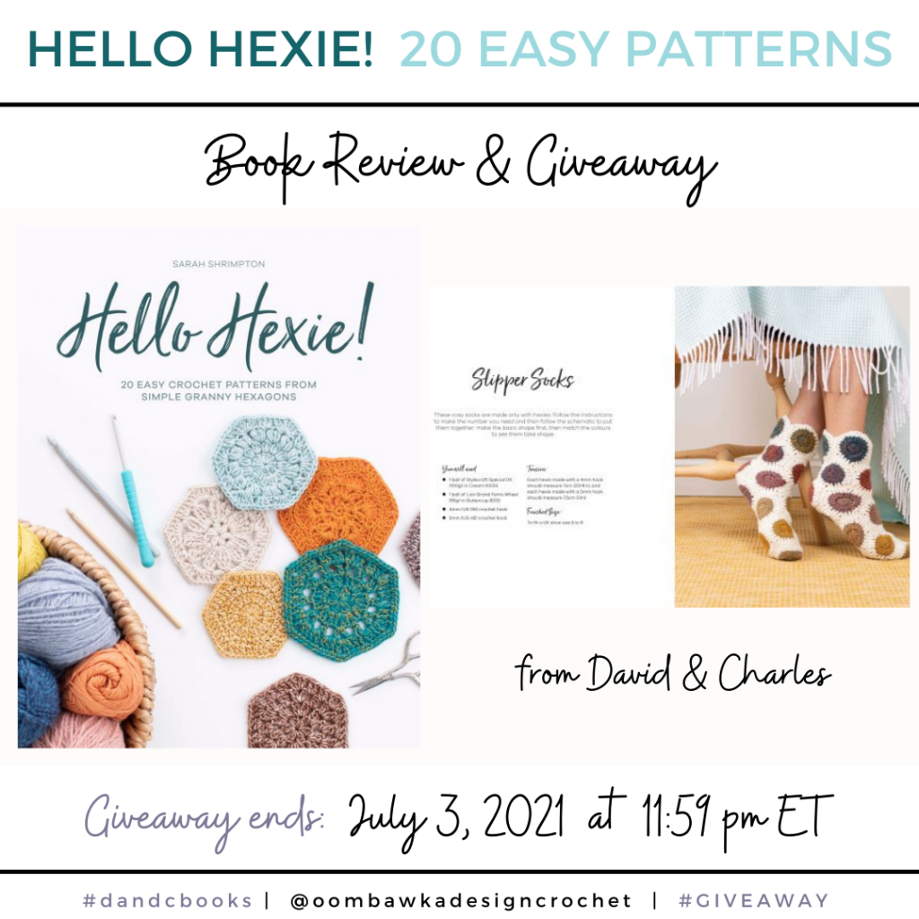 Hello Hexie! David and Charles Review and Giveaway Instagram