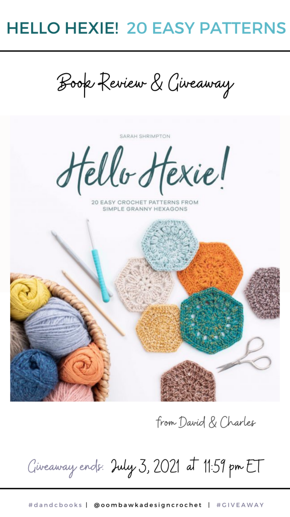 Hello Hexie! David and Charles Review and Giveaway