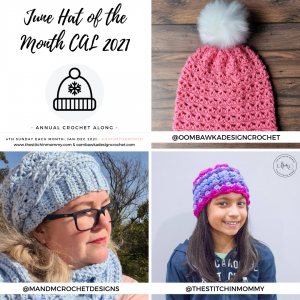 June Hat of the Month CAL 2021 1080x1080
