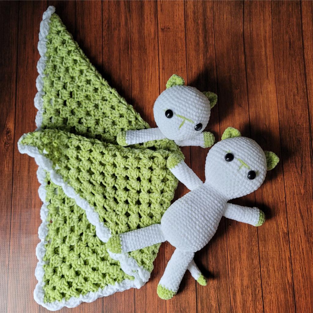 Kitten Lovey Crochet Pattern