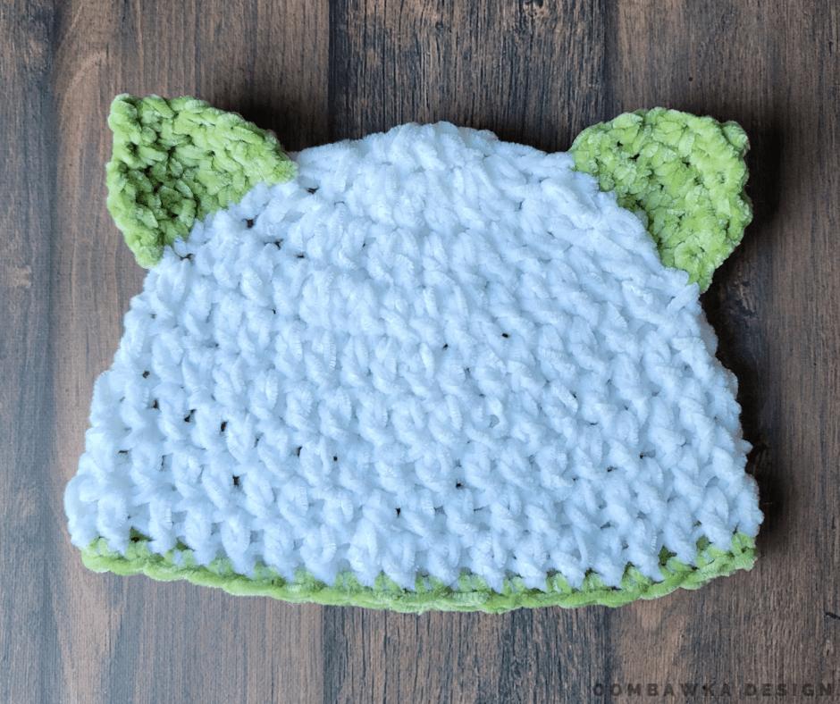 Kitten Newborn Baby Hat Pattern