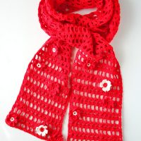 Lace Floral Scarf - Free Pattern Friday