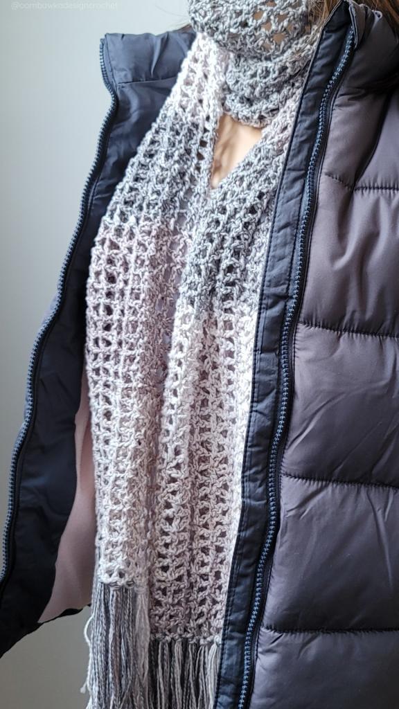 Lacy Crochet Scarf Pattern - June 2021