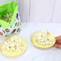 Link Party 401 - Reusable Microwave Popcorn Bag