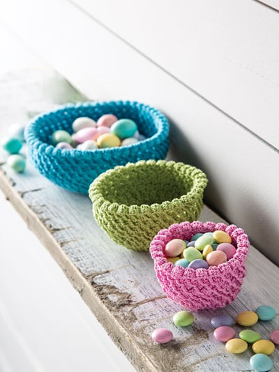 Little Bits Bowls - Stash-Busting Projects to Crochet