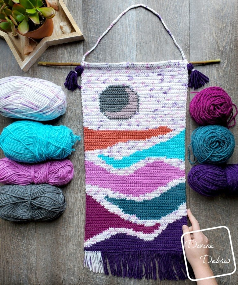 Moon Rise Wall Hanging - Free Pattern Friday