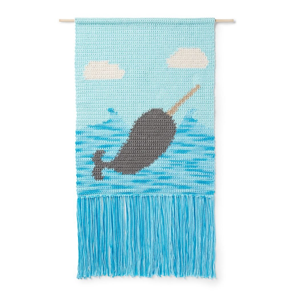Nar-Wall Hanging - Free Pattern Friday