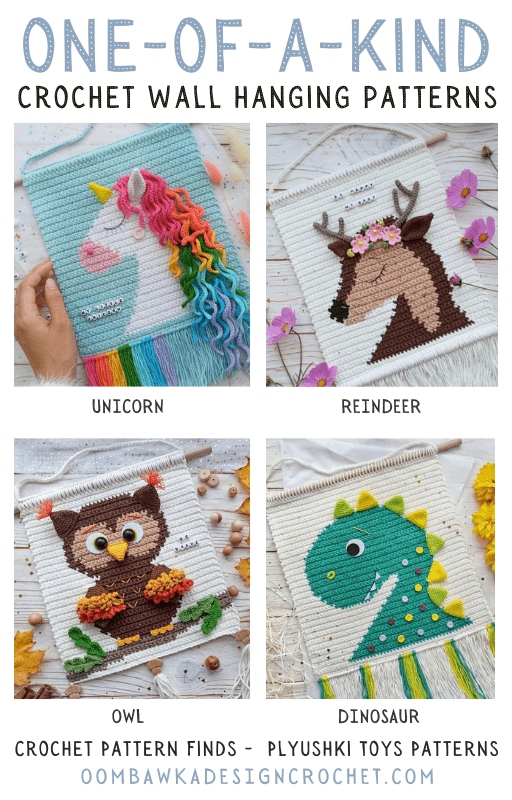 One of a Kind Crochet Wall Hanging Patterns