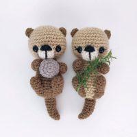 Otter Friends - Theresa's Crochet Shop