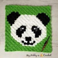 Panda Lee Square - Free Pattern Friday