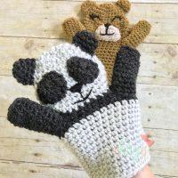 Panda Puppet - Free Pattern Friday