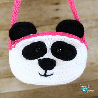 Panda Purse - FreePatternFriday
