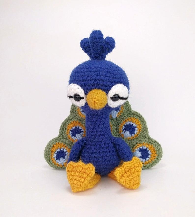 Percival the Peacock - Theresa's Crochet Shop