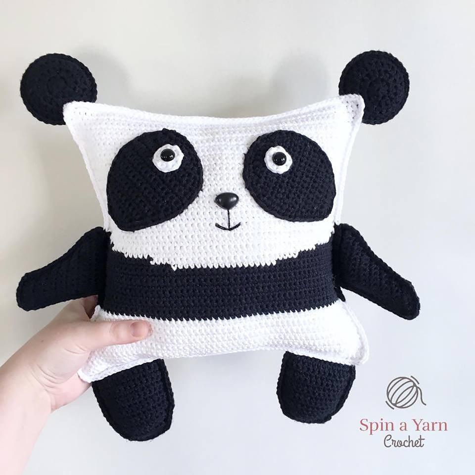 Pudgy Panda - Free Pattern Friday