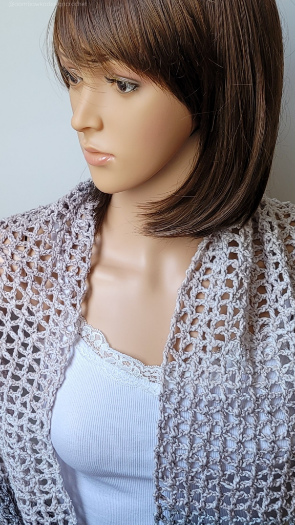 Ready or Not Lacy Crochet Scarf PIN