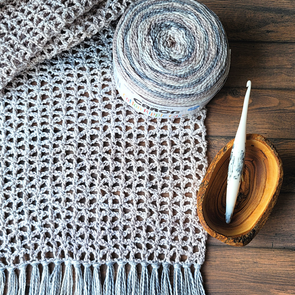 Ready or Not Scarf Crochet Pattern