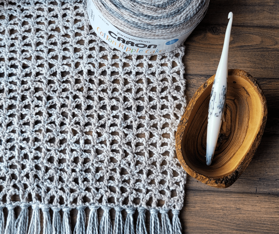 Ready or Not Scarf - Lacy Crochet Scarf pattern