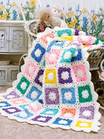 Scrap Baby Afghan - Stash-Busting Projects to Crochet