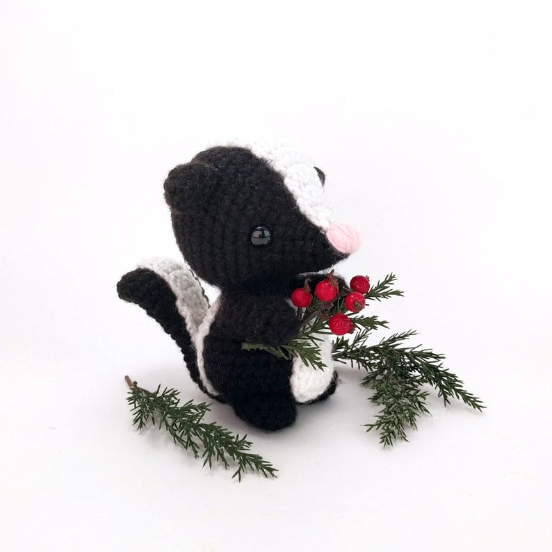 Sebastian the Skunk from Theresa's Crochet Shop