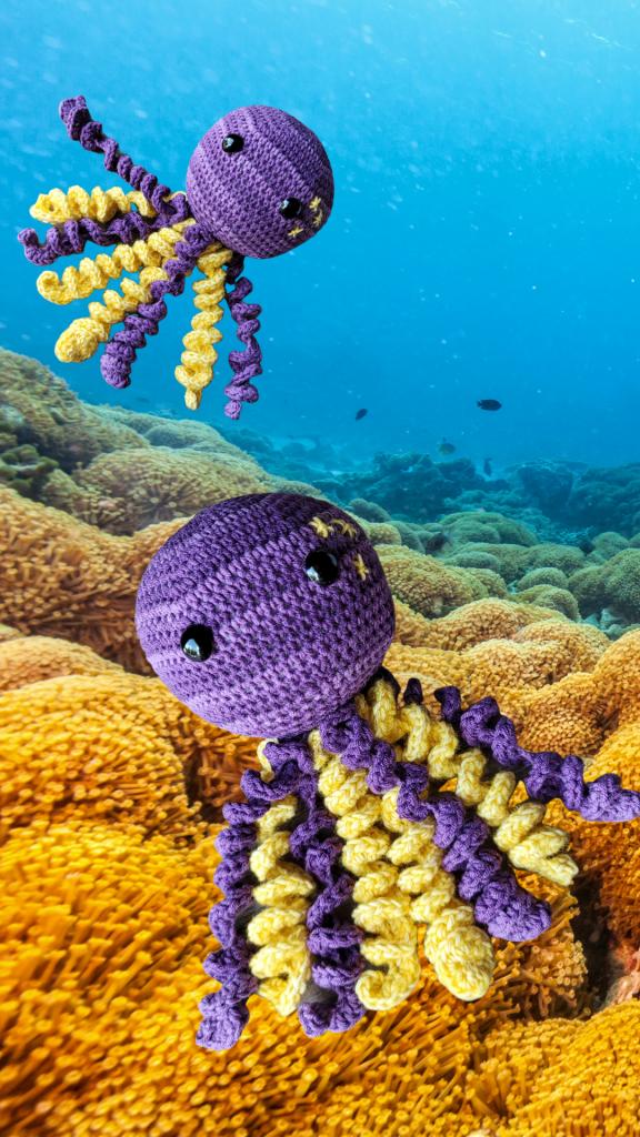 Sir Tentacles The Crochet Octopus Oombawka Design Crochet