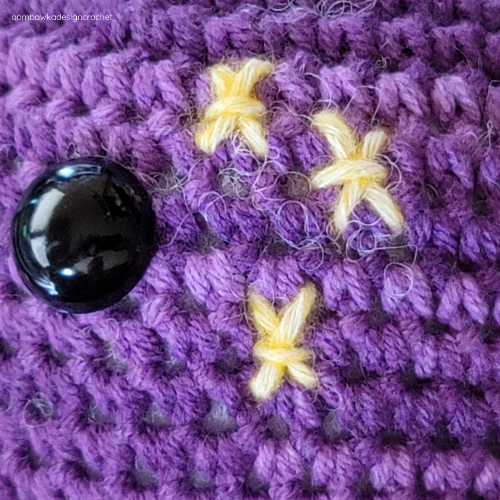 Sir Tentacles the Crochet Octopus Stars
