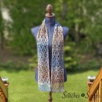 Stepping Out Summer Scarf - Free Pattern Friday