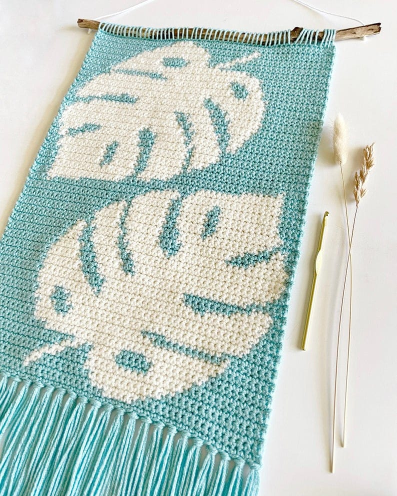The Monstera Fields Wall Hanging