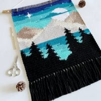 The Mountainside Wall Hanging Pattern