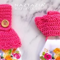 Towel Toppers with Hidden Ring - Free Pattern Friday