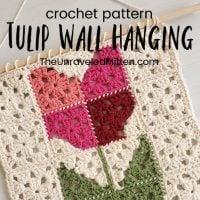 Tulip Wall Hanging - Free Pattern Friday