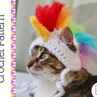 Unicorn Cat Hat