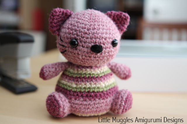 Violet the Kitty - Free Pattern Friday