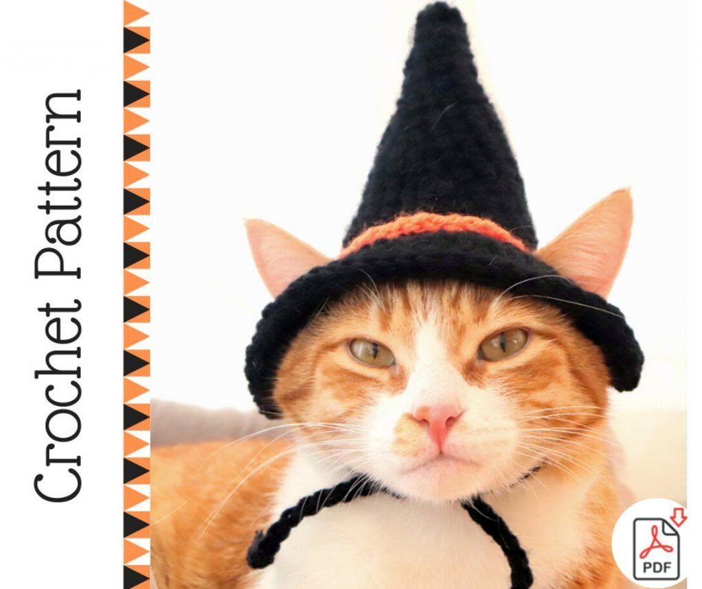 Witch Cat Hat Pattern