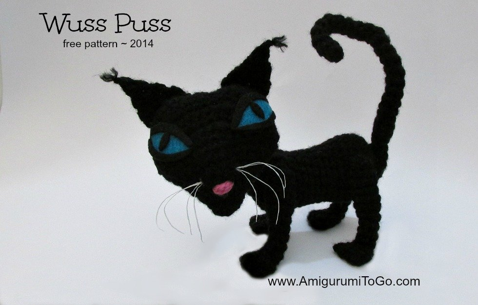 Wuss Puss Crochet Cat Pattern