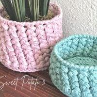 Customizable Woven Basket