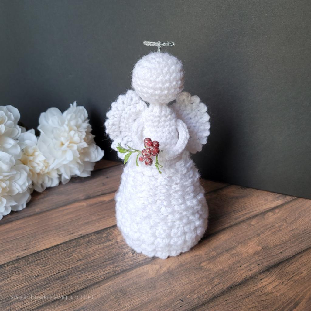 2021 Crochet Angel Pattern - Oombawka Crochet