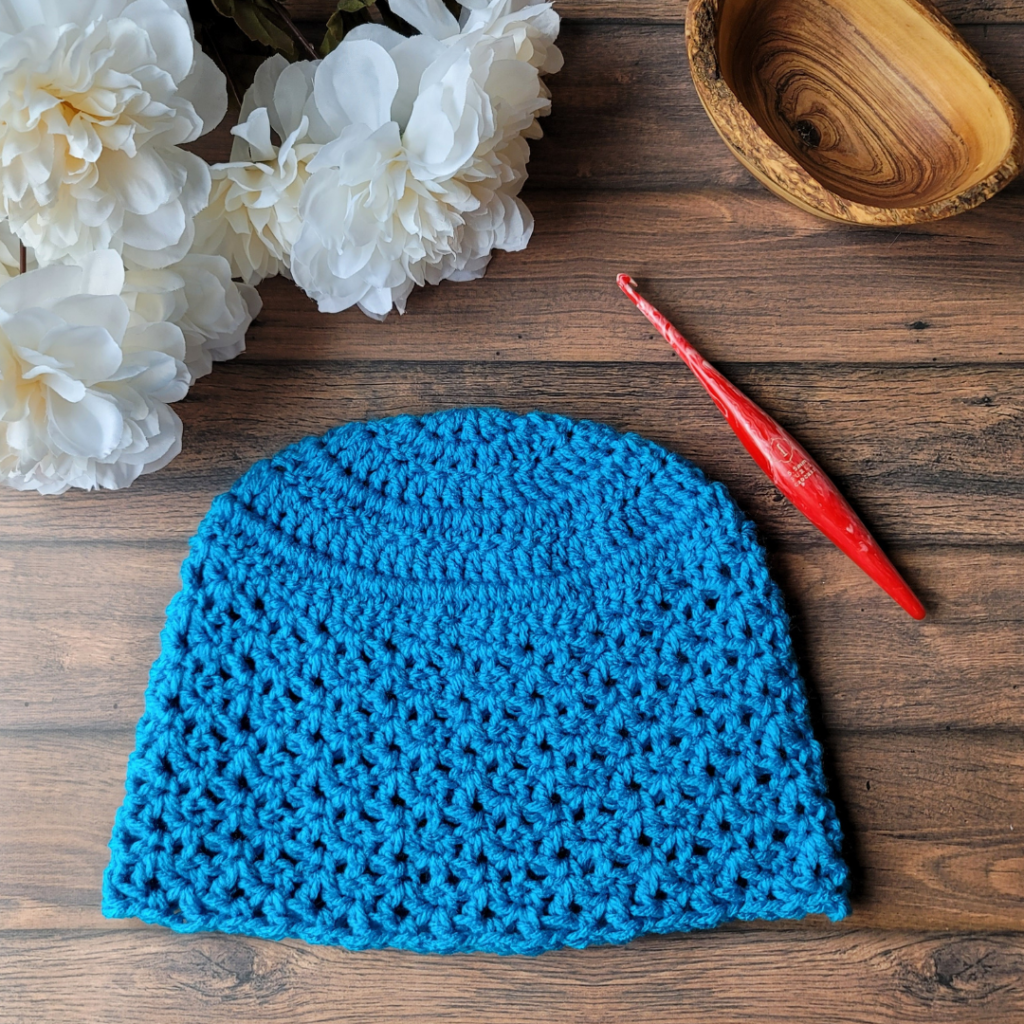 Teen Amber Crochet Hat - Oombawka Crochet