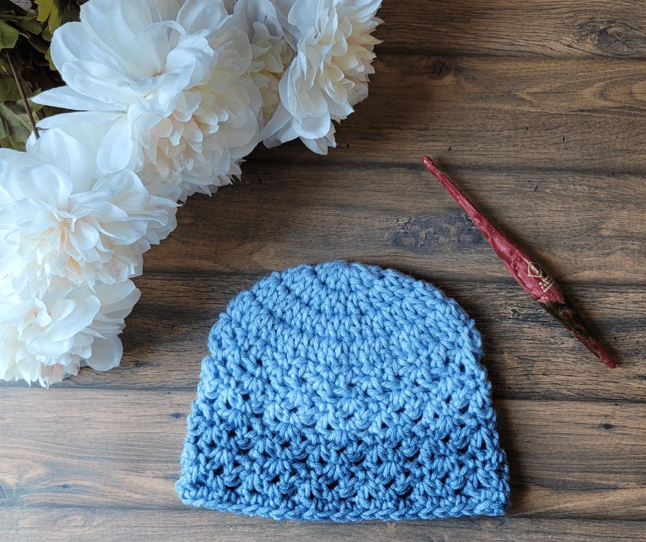 Amber Newborn Hat Pattern - ODC
