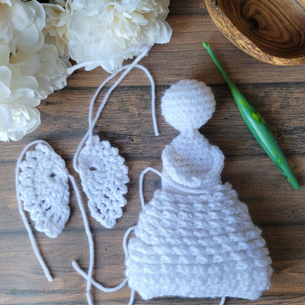Angel Part 4 - Oombawka Crochet