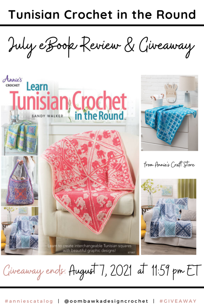 Learn Tunisian Crochet in the Round Book Review