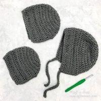 Basic Bonnet - Free Pattern Friday