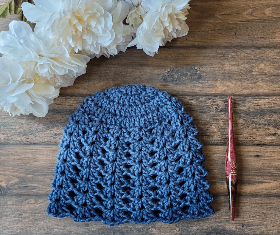Betsy Hat Crochet Pattern - Rhondda Mol