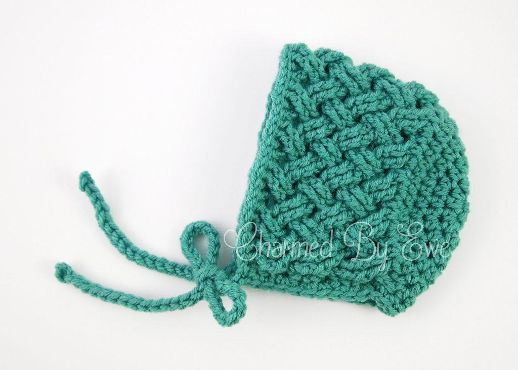 Celtic Dream Baby Bonnet - Free Pattern Friday