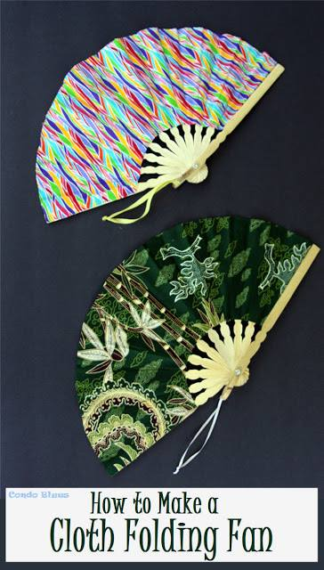 Cloth Folding Fan - Link Party 406