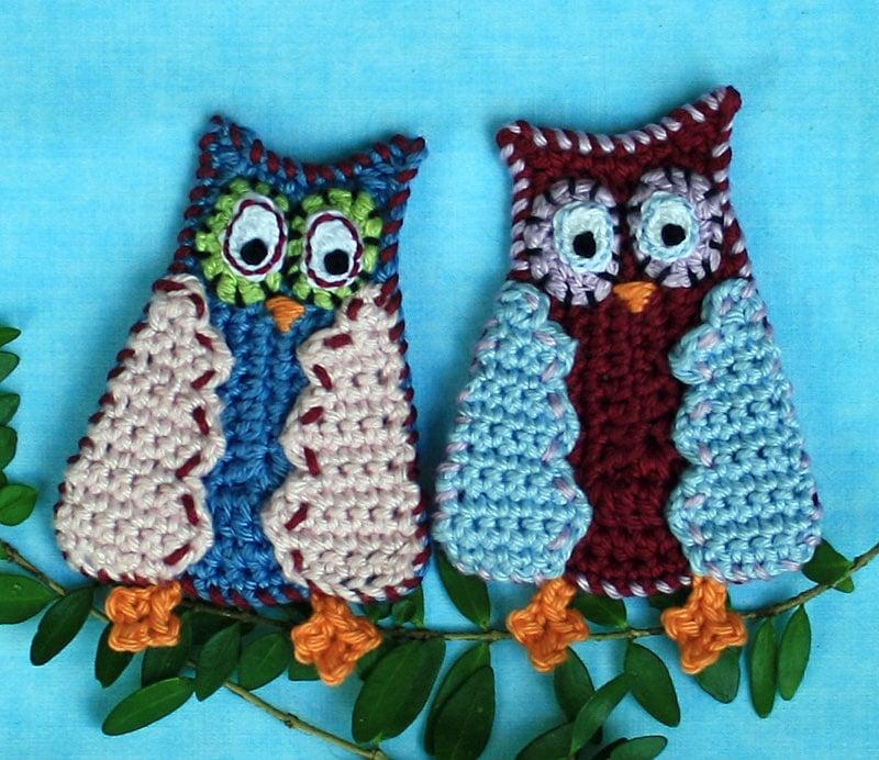 Comic Owl - Free Pattern Friday