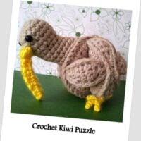 Crochet Kiwi Puzzle Ball - Free Pattern Friday