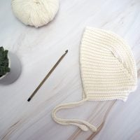 Cute Baby Bonnet - Free Pattern Friday