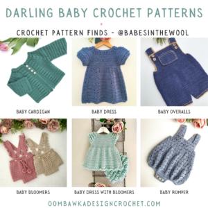 Darling Baby Crochet Patterns - Crochet Pattern Finds