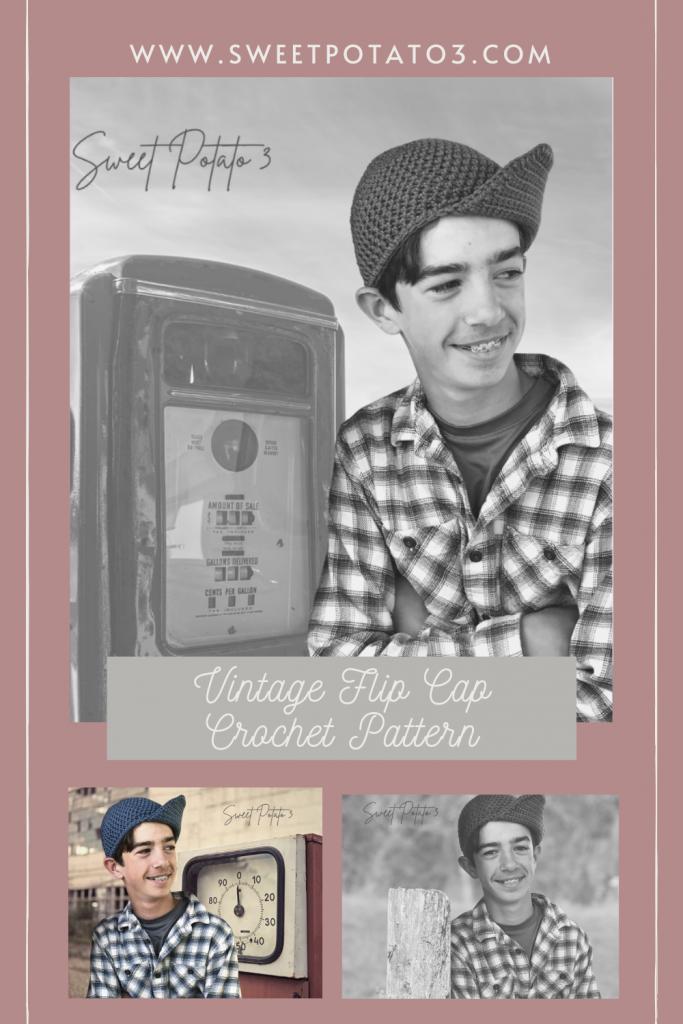 Vintage Flip Cap - Guest Design - SweetPotato3
